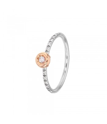 Bague 2 ORS 750 trilogie diamants